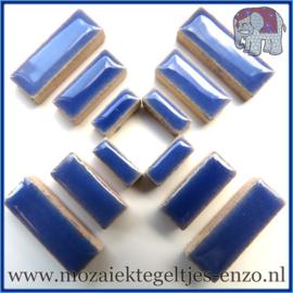 Keramische mozaiek steentjes - Keramiek Rectangles Rechthoekjes Normaal - 4, 6 en 10 mm - Enkele Kleuren - per 50 gram - Delphinium