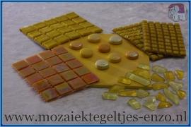 Mozaiek Kleur Pakket  Parelmoer - Geel