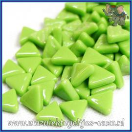 Glasmozaiek steentjes - Art Angles Normaal - 10 mm - Enkele Kleuren - per 50 gram - New Green