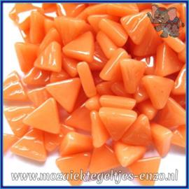 Glasmozaiek steentjes - Art Angles Normaal - 10 mm - Enkele Kleuren - per 50 gram - Apricot