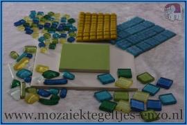 Mozaiek Pakket Rainbow Ice - Pakket 3
