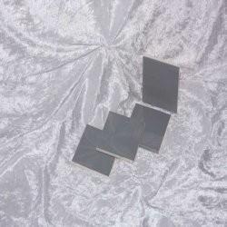 Sample - Binnen wandtegel Royal Mosa - Glanzend - 3,75 x 3,75 cm - per 1 stuk - Mouse Grey 16880