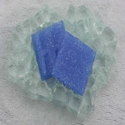 "Glasmozaïek Basic Line 2 x 2 cm - Blue Heaven ""Sample"""