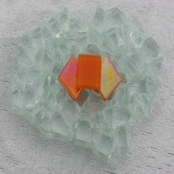 "- Nebula 1 x 1 cm - Mini Fires-Agates-""S"""