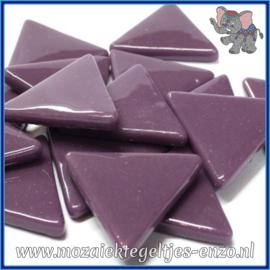 Glasmozaiek steentjes - Art Angles Normaal - 29 mm - Enkele Kleuren - per 1 stuk - Deep Purple