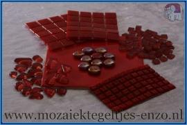 Mozaiek Kleur Pakket  Basic Line - Rood