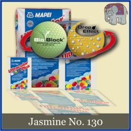Voegmiddel - Mapei Ultracolor Plus - Binnen en buiten voegsel voor de mozaiek hobby - per 500 gram - Jasmijn/Jasmine No. 130
