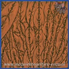 Plaatglas - Van Gogh Glass Normaal - 5 x 10 cm - Enkele Kleuren - per 1 stuk - Copper