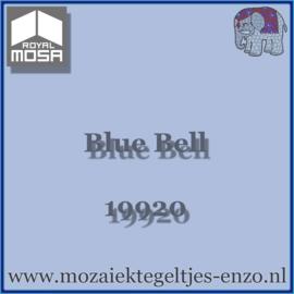 Binnen wandtegel Royal Mosa - Glanzend - 7,5 x 7,5 cm - Op maat gesneden - Blue Bell 19920