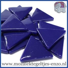 Glasmozaiek steentjes - Art Angles Gewoon - 29 mm - Enkele Kleuren - per 1 kilo - Royal Blue