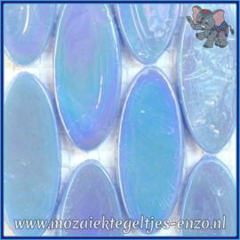 Glasmozaiek steentjes - Radiant Ellipse Parelmoer - 20 x 45 mm - Enkele Kleuren - per 1 stuk - Atoll