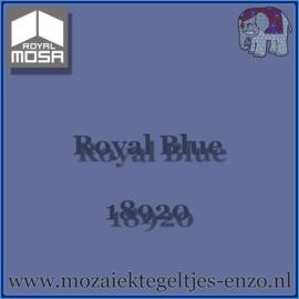 Binnen wandtegel Royal Mosa - Glanzend - 15 x 15 cm - per 1 stuk - Royal Blue 18920
