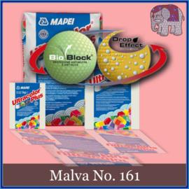 Voegmiddel - Mapei Ultracolor Plus - Binnen en buiten voegsel voor de mozaiek hobby - per 500 gram - Roze/Malva No. 161