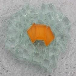 """- Murini 1 x 1 cm - Mini Tangerine-""""S"""""""