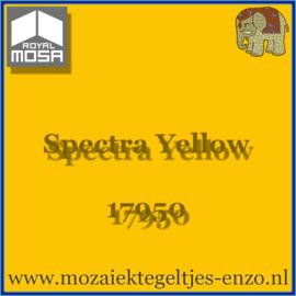 Binnen wandtegel Royal Mosa - Glanzend - 15 x 15 cm - per 44 stuks (1m2)  - Op bestelling - Spectra Yellow 17950