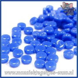 Glasmozaiek Pixel steentjes - Darling Dotz Normaal - 0,8 cm - Enkele Kleuren - per 50 gram - True Blue