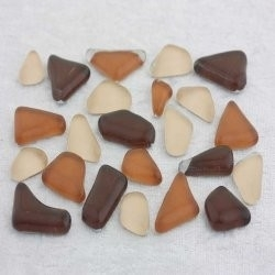 "- Glass Puzzles 50 g - Chocolate-Cosmos-""S"""