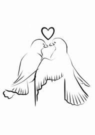 Vogels met hart