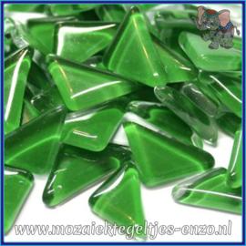 Glasmozaiek steentjes - Soft Glass Puzzles Normaal - Enkele Kleuren - per 50 gram - Irish Green