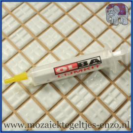 Olba Lijm Spuitje - 10 ml - Hulpmiddel om lijm in te doen voor de mozaiek hobby