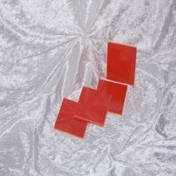 Sample - Binnen wandtegel - Glanzend - 3,75 x 3,75 cm - per 1 stuk - Red
