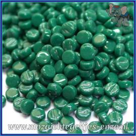 Glasmozaiek Pixel steentjes - Darling Dotz Normaal - 0,8 cm - Enkele Kleuren - per 50 gram - Spruce Green