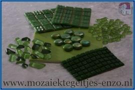 Mozaiek Kleur Pakket  Basic Line - Groen