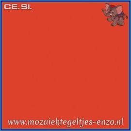Buiten tegel Cesi - Mat Glanzend - 20 x 20 cm - per 1 stuk  - Op bestelling - Coral Red