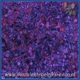 Plaatglas - Van Gogh Glass Normaal - 5 x 10 cm - Gemixte Kleuren - per 1 stuk - Violet Red