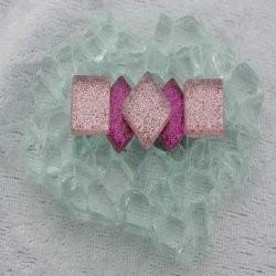 "- Glitter 1 x 1 cm -  Mini Fuchia-Magic-""S"""