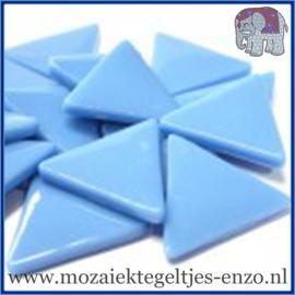 Glasmozaiek steentjes - Art Angles Gewoon - 29 mm - Enkele Kleuren - per 1 kilo - Opal Turquoise