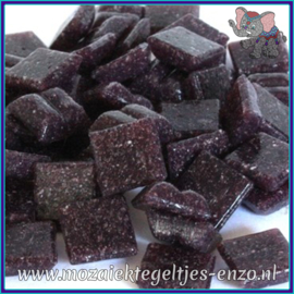 Glasmozaiek tegeltjes - Basic Line - 1 x 1 cm - Enkele Kleuren - per 60 steentjes - Mini Ultra Violet A45