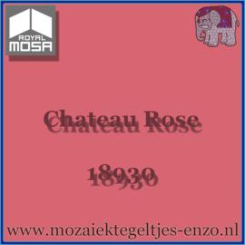 Binnen wandtegel Royal Mosa - Glanzend - 7,5 x 7,5 cm - Op maat gesneden - Chateau Rose 18930