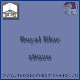 Binnen wandtegel Royal Mosa - Glanzend - 15 x 15 cm - per 44 stuks (1m2)  - Op bestelling - Royal Blue 18920