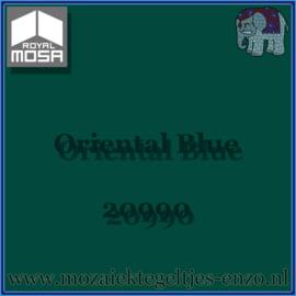 Binnen wandtegel Royal Mosa - Glanzend - 7,5 x 7,5 cm - Op maat gesneden - Oriental Blue 20990