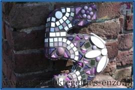 Mozaiek Kant & Klaar Pakket Piepschuim Huisnummer Groot - Cijfer 5 Groen