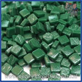 Glasmozaiek Pixel steentjes - Ottoman Matte - 0,8 x 0,8 cm - Enkele Kleuren - per 50 gram - Spruce Green
