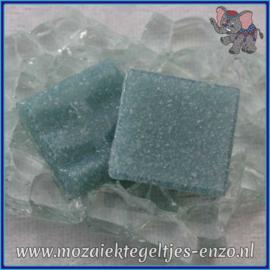 Glasmozaiek tegeltjes - Basic Line - 2 x 2 cm - Enkele Kleuren - per 20 steentjes - Washed Denim A52