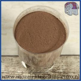 Voegmiddel - Mapei Ultracolor Plus - Binnen en buiten voegsel voor de mozaiek hobby - per 500 gram - Chocolade Bruin/Brown No. 144