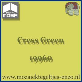 Binnen wandtegel Royal Mosa - Glanzend - 15 x 15 cm - per 1 stuk - Cress Green 19960