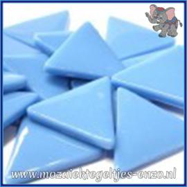 Glasmozaiek steentjes - Art Angles Normaal - 29 mm - Enkele Kleuren - per 1 stuk - Opal Turquoise