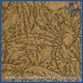 Plaatglas - Van Gogh Glass Normaal - 5 x 10 cm - Enkele Kleuren - per 1 stuk - Bronze