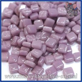 Glasmozaiek Pixel steentjes - Ottoman Normaal - 0,8 x 0,8 cm - Enkele Kleuren - per 50 gram - Lilac