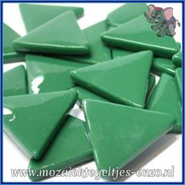 Glasmozaiek steentjes - Art Angles Normaal - 29 mm - Enkele Kleuren - per 1 stuk - Spruce Green