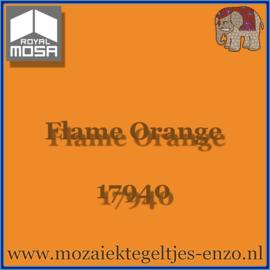 Binnen wandtegel Royal Mosa - Glanzend - 15 x 15 cm - per 44 stuks (1m2)  - Op bestelling - Flame Orange 17940