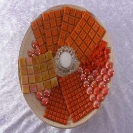 - Bamboeschaal - Oranje