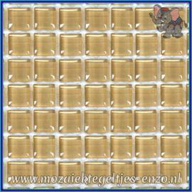 Glasmozaiek tegeltjes - Murrini Crystal - 1 x 1 cm - Enkele Kleuren - per 60 steentjes - Mini Flesh Pot