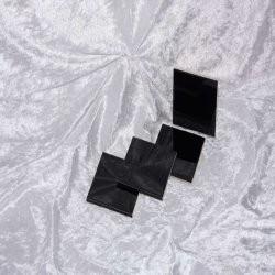 Sample - Binnen wandtegel Royal Mosa - Glanzend - 3,75 x 3,75 cm - per 1 stuk - Accent Black 16910