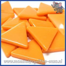 Glasmozaiek steentjes - Art Angles Normaal - 29 mm - Enkele Kleuren - per 1 stuk - Orange Opal