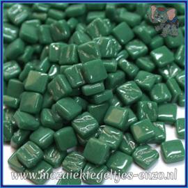 Glasmozaiek Pixel steentjes - Ottoman Normaal - 0,8 x 0,8 cm - Enkele Kleuren - per 50 gram - Spruce Green